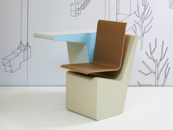 006 Sideseat Desk Chair Storage Space In One