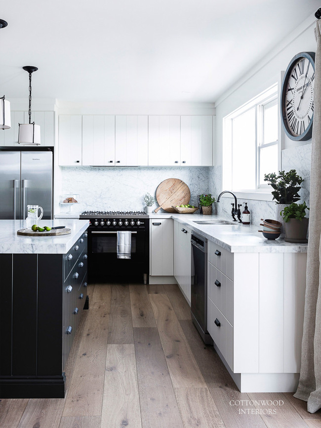 Modern Scandi-Inspired White Farmhouse Design