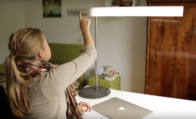 The lamp has various working and relaxing modes for any situation
