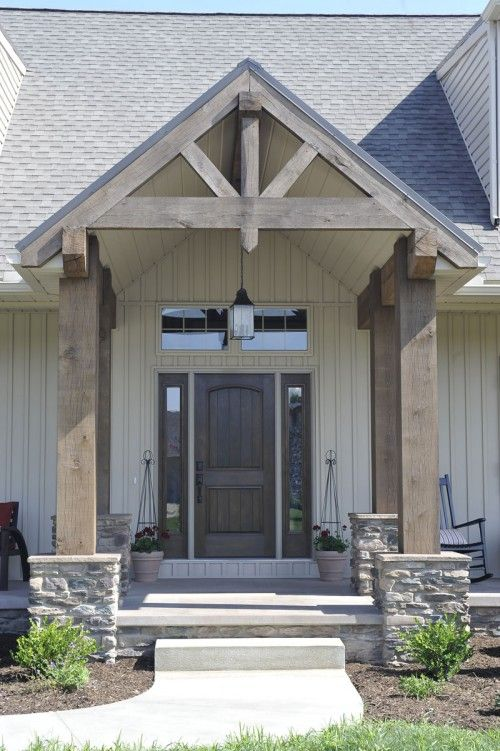 5 most popular gable roof types and 26 ideas digsdigs Front porch without roof