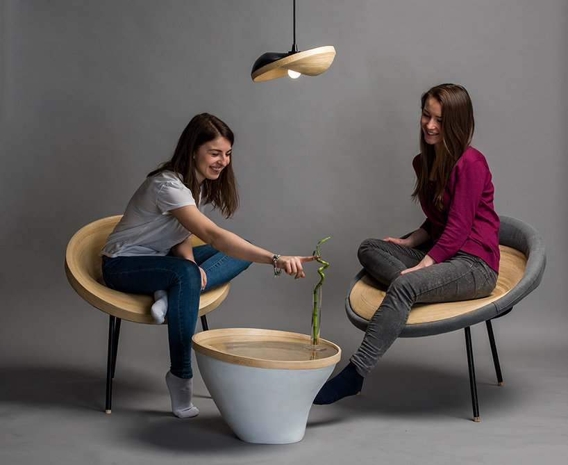 Sagano furniture collection is available in two versions