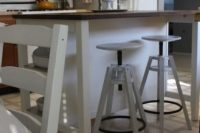 03 all-white IKEA Dalfred stool
