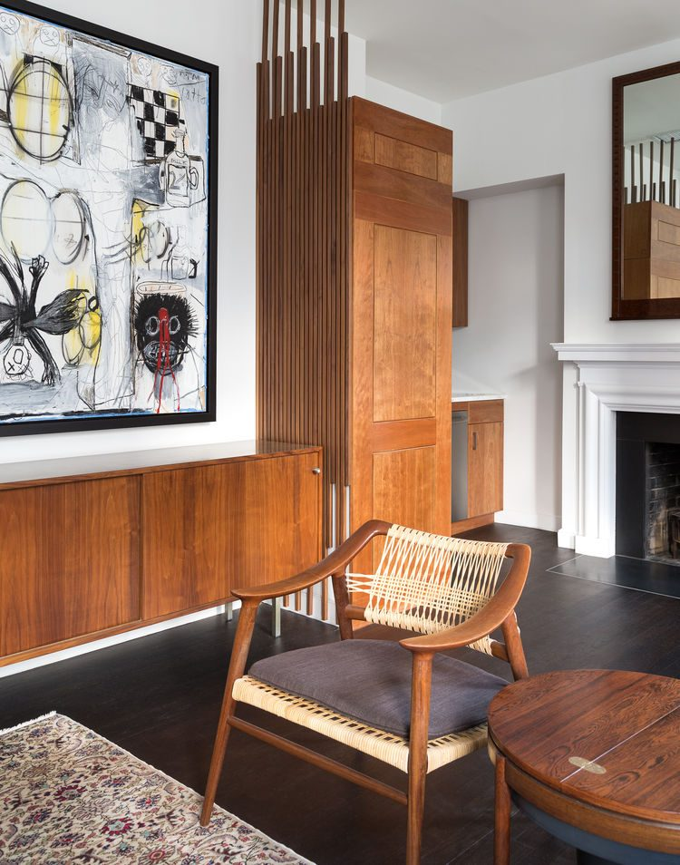 artworks give the space a character