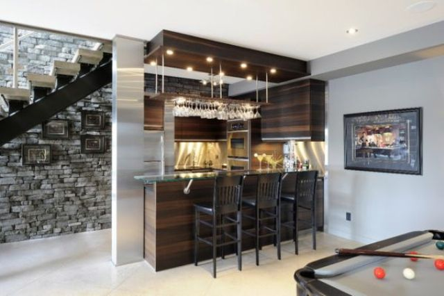 27 Stylish Basement Bar Decor Ideas Digsdigs
