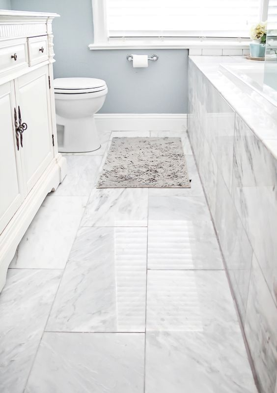 41 cool bathroom floor tiles ideas you should try digsdigs for Shower room flooring ideas