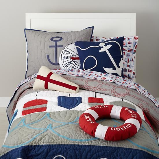 sea-inspired bedding