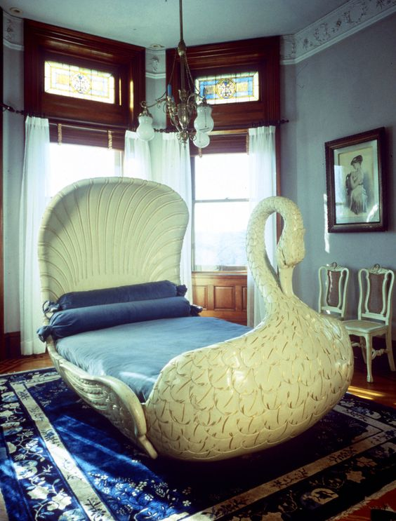 unique bed. Exellent Bed Swan Boat Bed For Unique Bed G