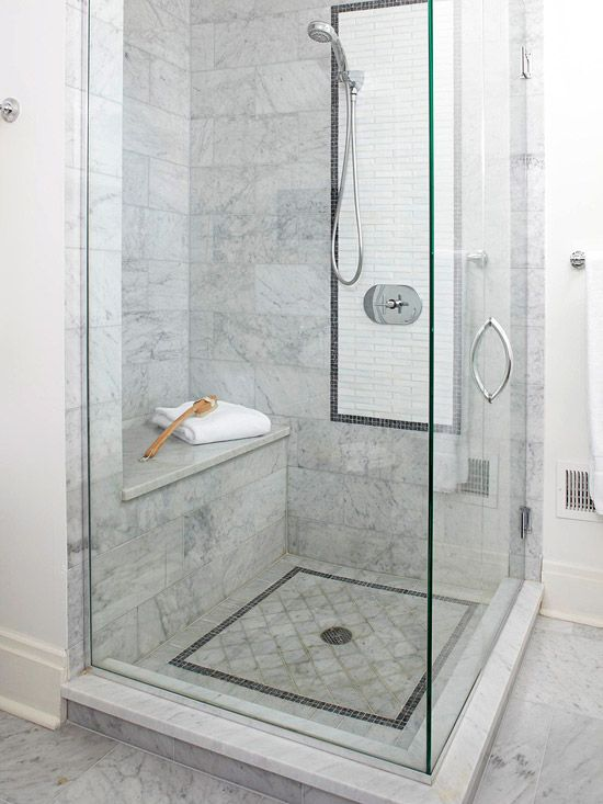 marble shower tiles - Shower Tile Design Ideas
