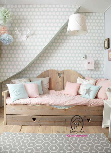 pastel bedding for a girl's room