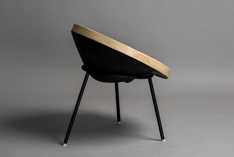 Sagano bamboo chair