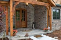 05 back porch with an interesting gabled roof framing