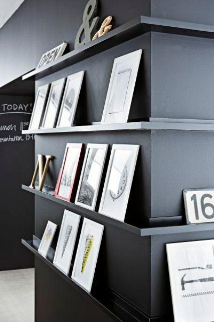 29 Ideas To Use Ikea Ribba Ledges Around The House Digsdigs