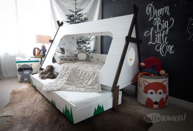 glamping kid bed