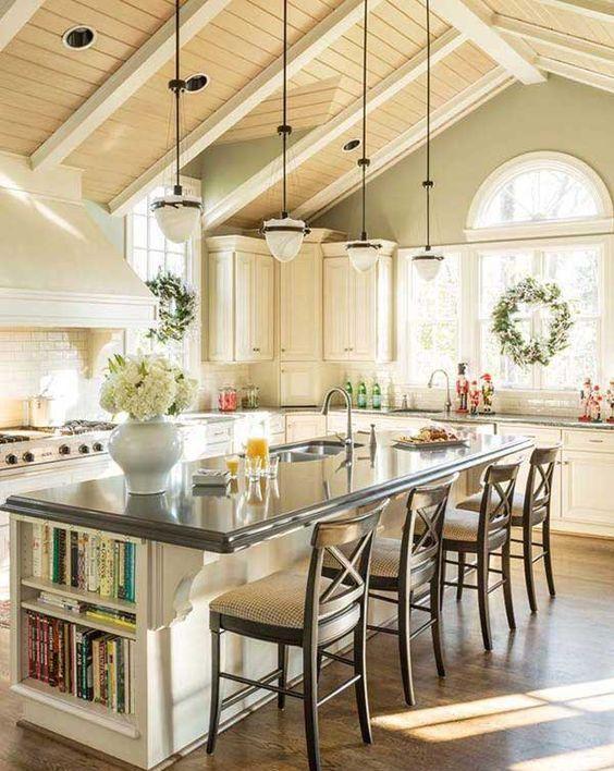 39 kitchen island ideas with storage digsdigs for Kitchen ideas book