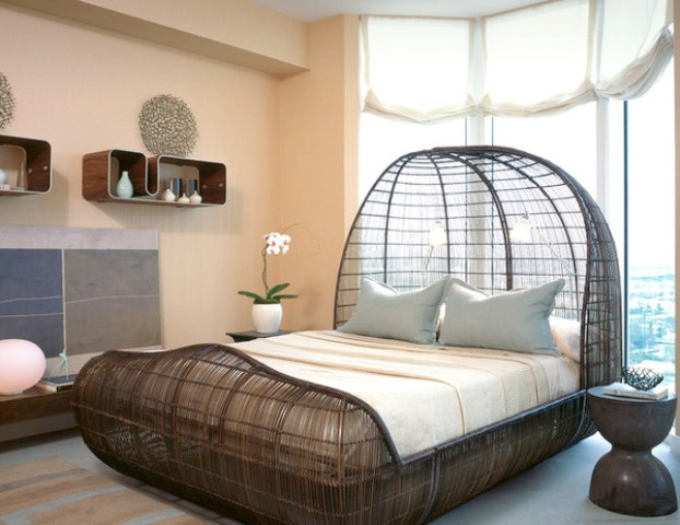26 unique beds that will change any bedroom design digsdigs for Unusual furniture ideas