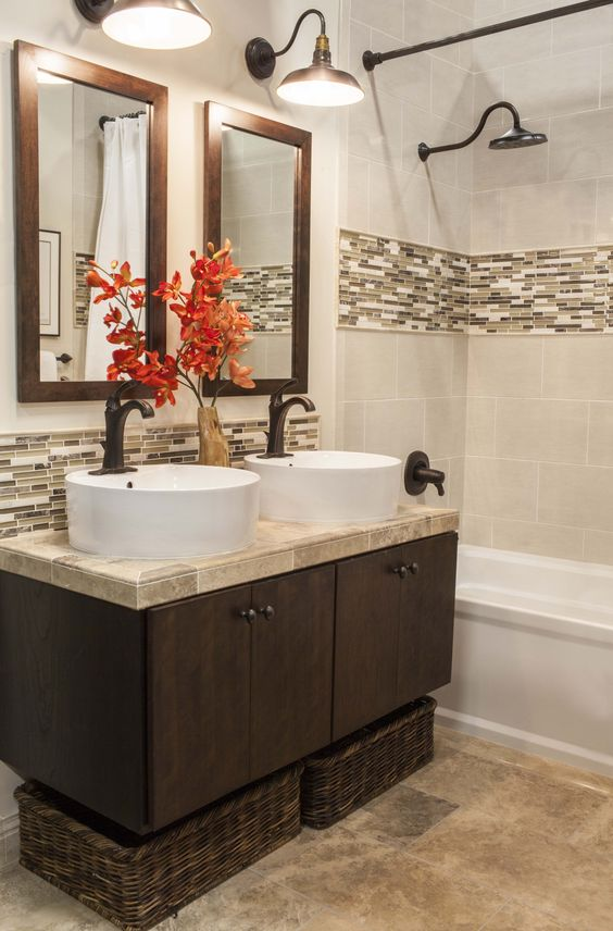 Ideas To Use All Bahtroom Border Tile Types DigsDigs - Ceramic tile places near me