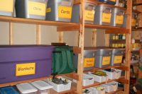 06 labeled cubbies for storing things