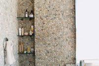 06 pebble and river rocks tiles