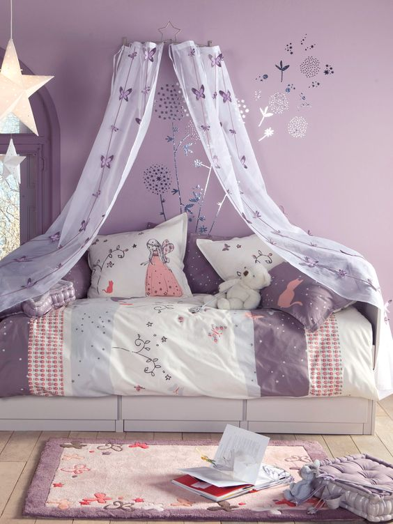 Simple sweet pastels bedding