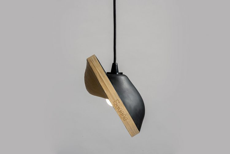 Sagano bamboo lamp is available in various shapes