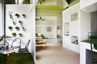 08 The apartment is seen like an integral space where each elements is in harmony with all the rest