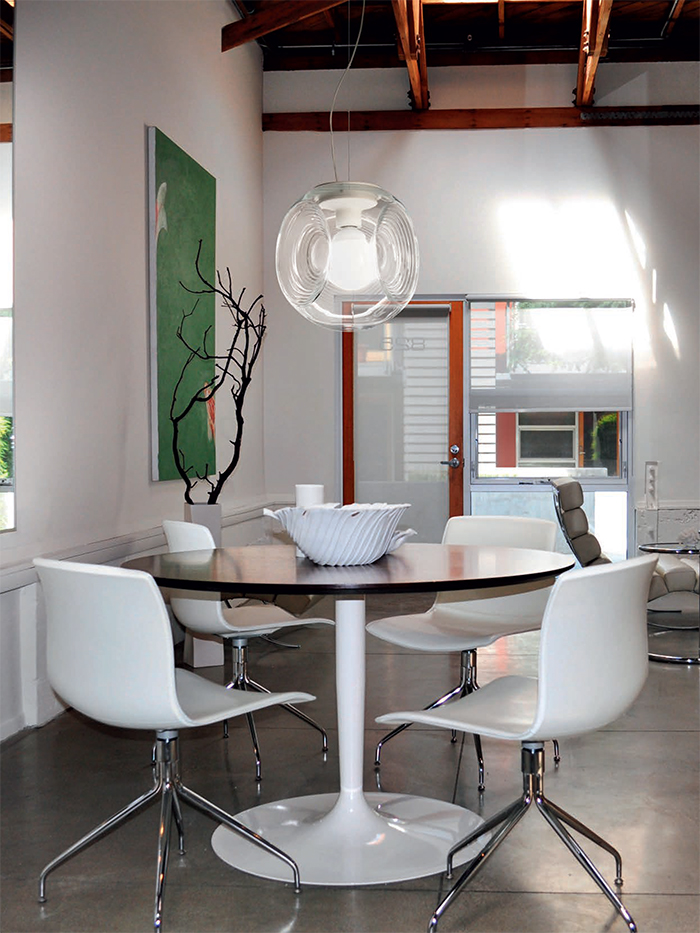 it can be a statement piece for any modern interior