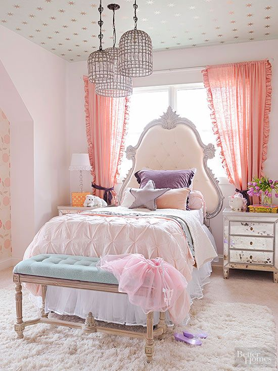 Cool textural pastel bedding set