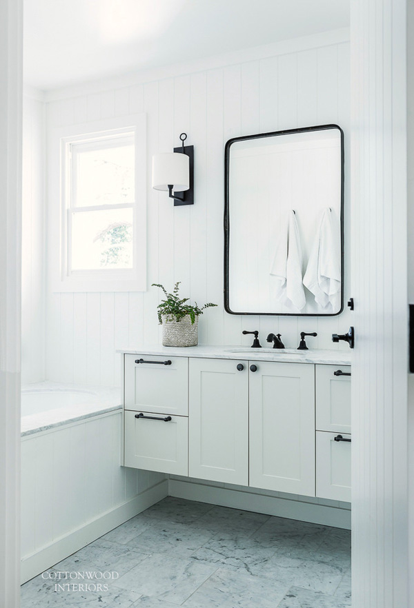 Modern Scandi Inspired White Farmhouse Design Digsdigs