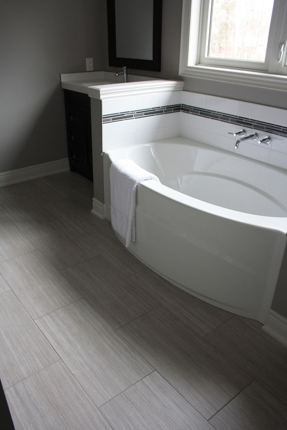 50 Cool Bathroom Floor Tiles Ideas You Should Try - DigsDigs