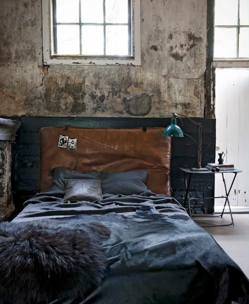 Beautiful dark grey bedding set