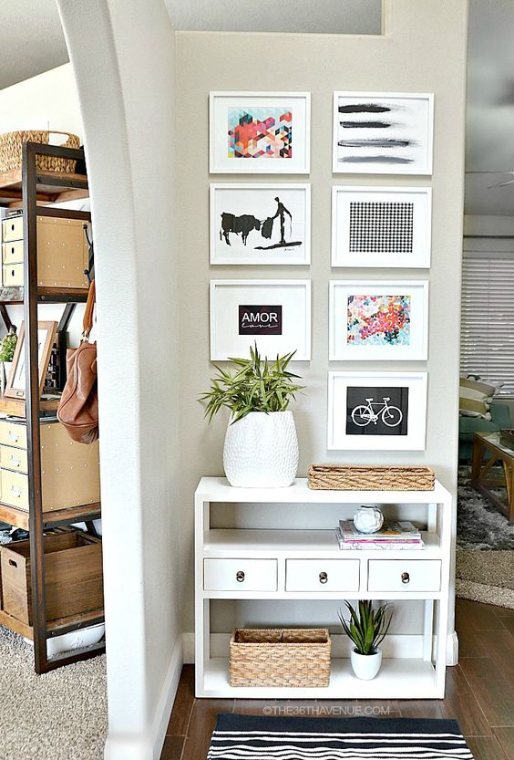 Small Living Room Wall Decorating Ideas: Unique Home Decor Ideas For All These Tricky Spots: 5 Tips