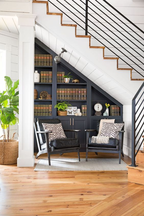 Storage Under The Stairs: 31 Smart Ideas - DigsDigs