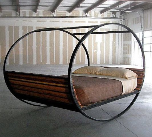 rocking chair bed