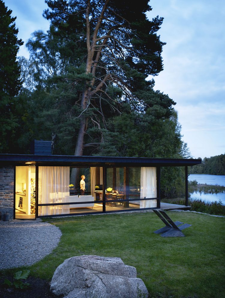 Scandinavian Holiday Home Designed With Japanese Touches