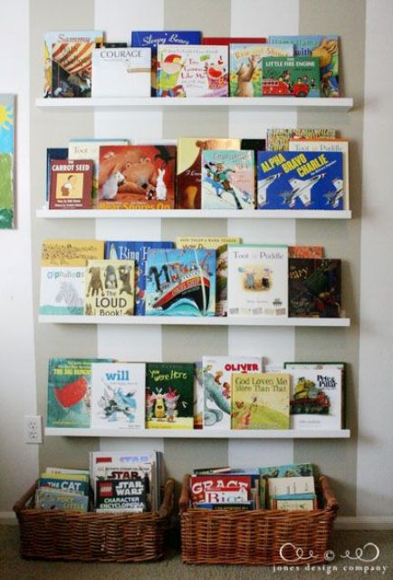 Ribba kid bookshelves
