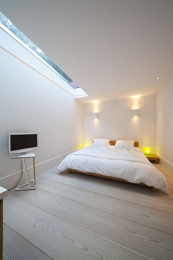 Merveilleux All White Is A Great Solution For A Basement To Get Additional Light
