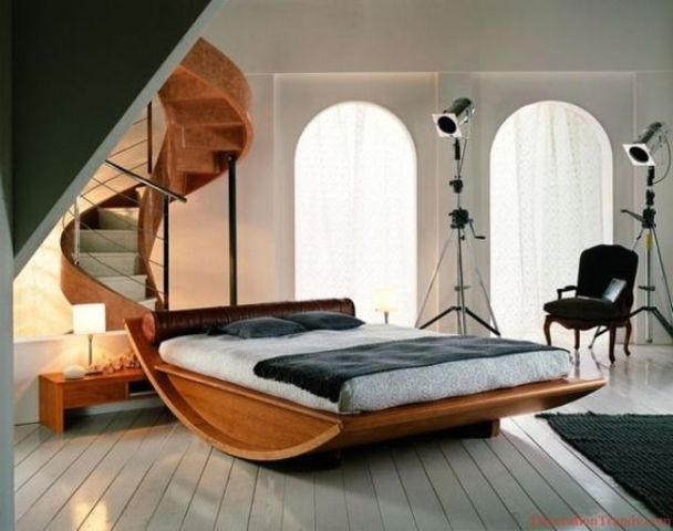 platform rocker bed