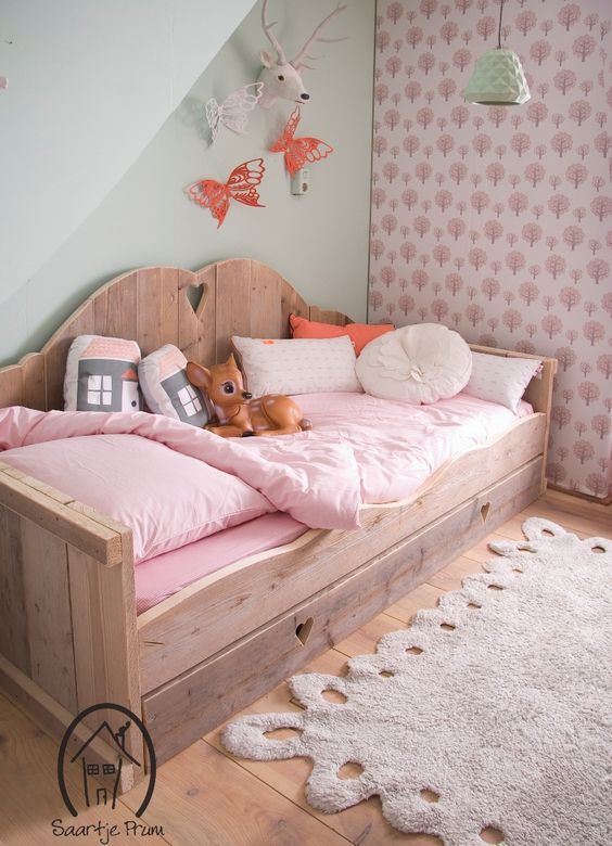 Unique sweet blush bedding