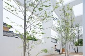 A House's Interior Combined With A Courtyard