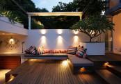 Modern Indoor Courtyard