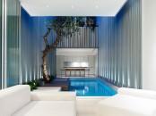 Zen-Like Internal Courtyard
