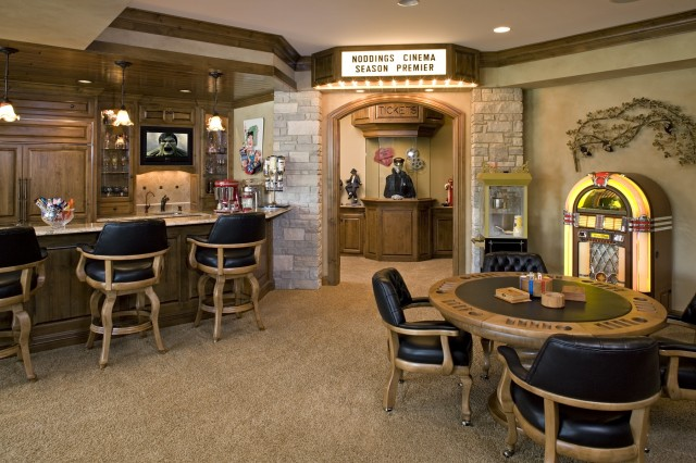 5 the most cool and wacky basements ever digsdigs for Cool basement furniture