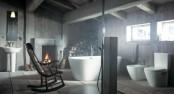 Bathroom In A Barn