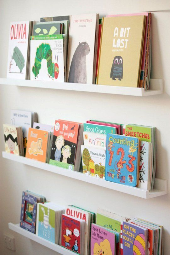 Ribba kids' bookshelves