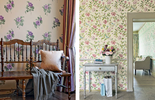 Romantic Flower Patterns