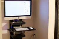 12 IKEA Dalfred stoo for a home office corner