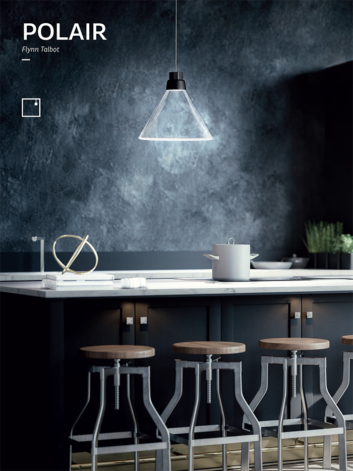 it has a modern look with a Scandi feel