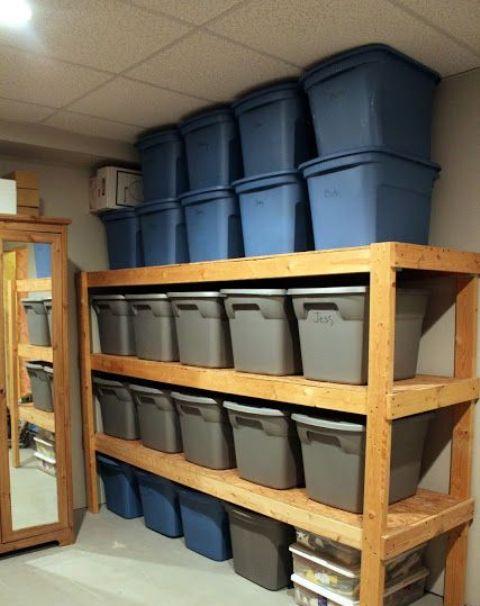 27 Basement Storage Ideas And 8 Organizing Tips