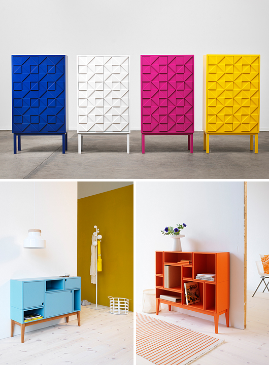 Sideboards Of Bright Juicy Colors