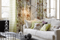 13 curtains and upholstery of natural fabrics